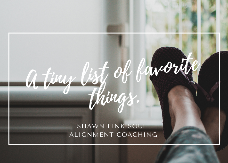 My Tiny List of Favorite Things (December 2020)